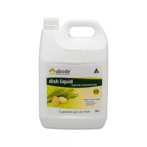 Abode Dish Liquid Concentrate Ginger and Lemongrass 5L