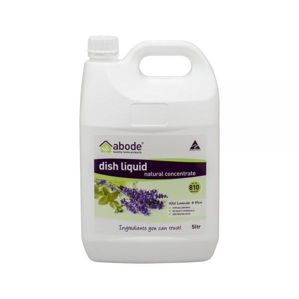 Abode Dish Liquid Concentrate Lavender Mint 5L