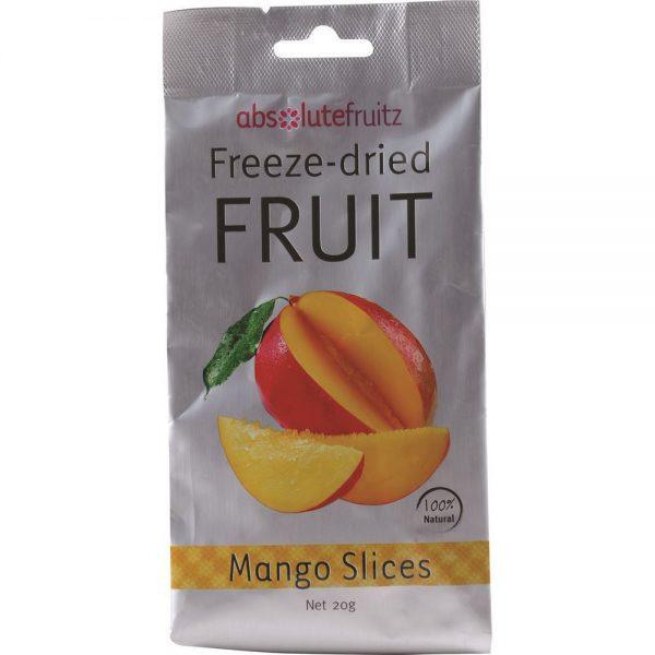 AbsoluteFruitz Freeze Dried Mango Slices 20g