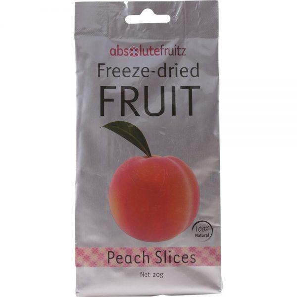 AbsoluteFruitz Freeze Dried Peach Slices 20g