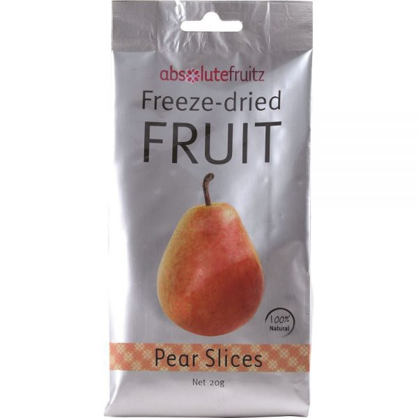AbsoluteFruitz Freeze Dried Pear Slices 20g