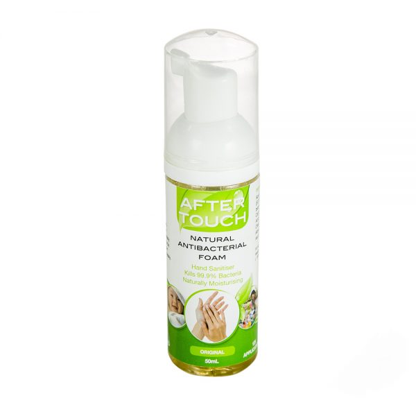After Touch Natural Antibacterial Hand Sanitising Foam 50ml
