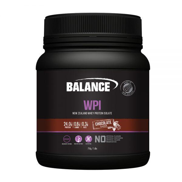 Balance WPI (NZ Whey Protein Isolate) Chocolate 750g