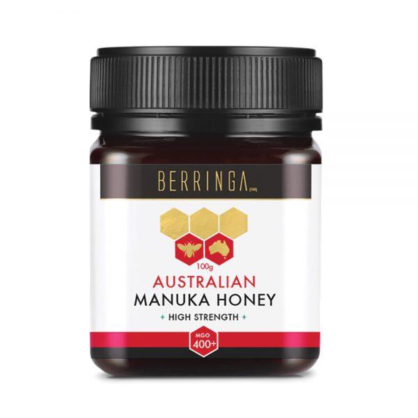 Berringa Aust Manuka Honey High Strength (MGO 400) 100g