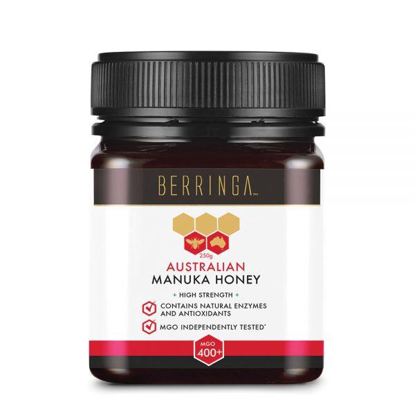 Berringa Aust Manuka Honey High Strength (MGO 400) 250g