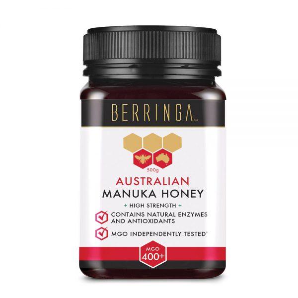 Berringa Aust Manuka Honey High Strength (MGO 400) 500g