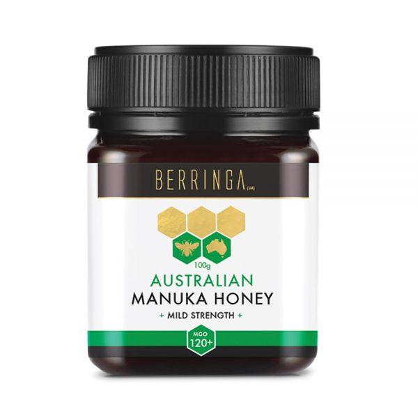 Berringa Aust Manuka Honey Mild Strength (MGO 120) 100g