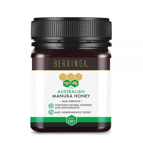 Berringa Aust Manuka Honey Mild Strength (MGO 120) 250g