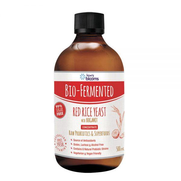 Blooms Bio Fermented Red Rice Yeast Bergamot Conc 500ml