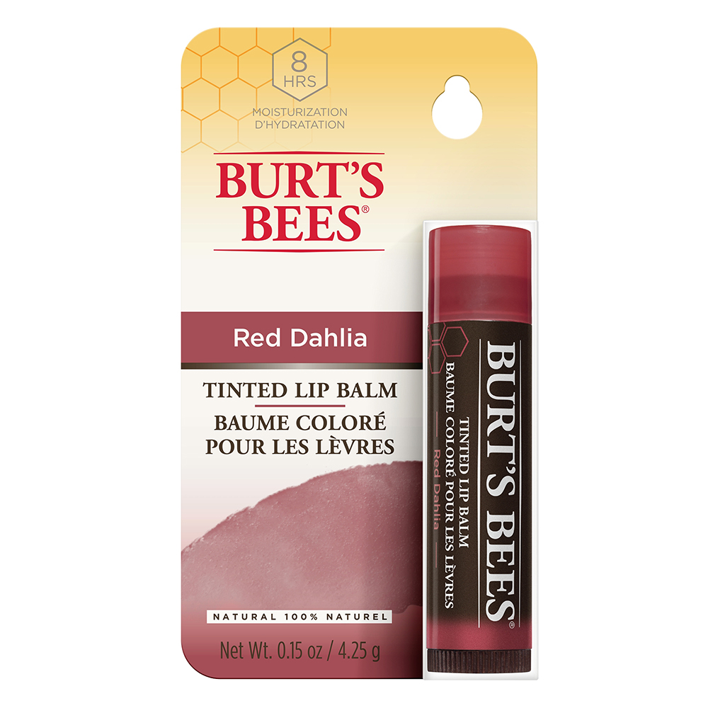 Burts Bees Lip Balm Tinted Red Dahlia 4.25g | Allergy FREE ...