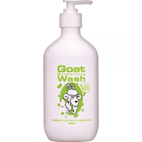 DPP Goat Moisturising Wash Lemon Myrtle 500ml